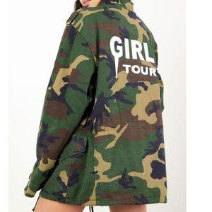 "Sorella Boutique ""Girls Tour"" Camo Jacket"